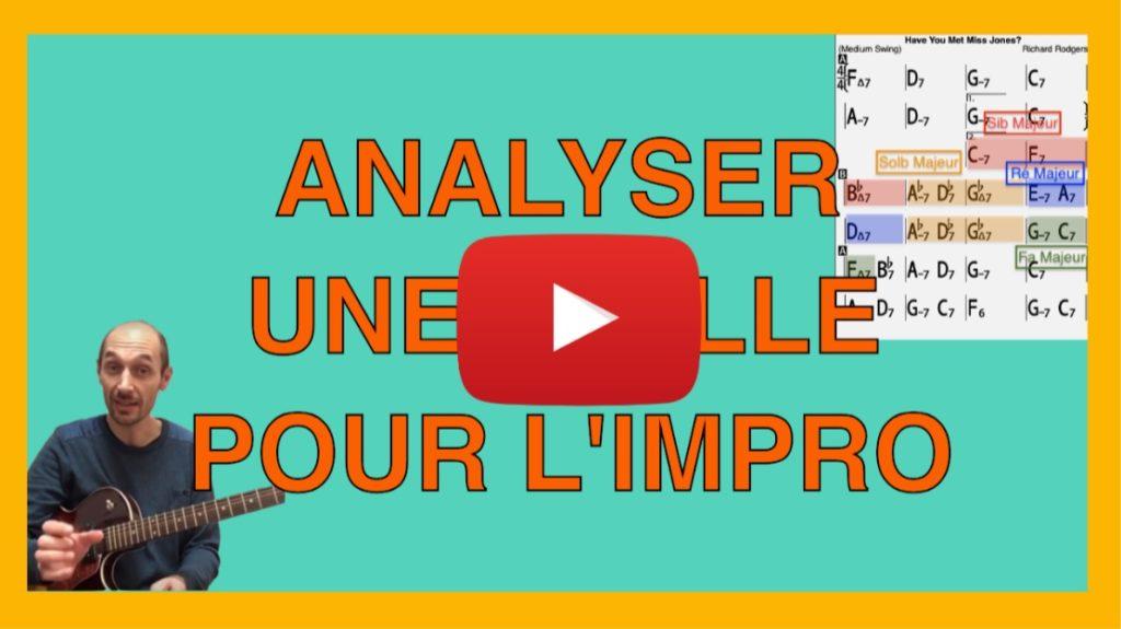 Vidéo tutoriel pour analyser une grille