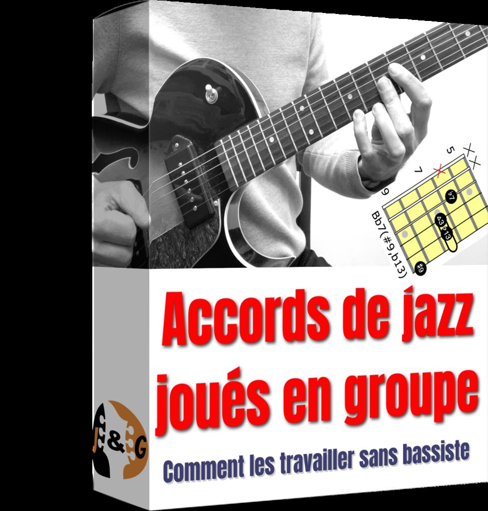 Accords de jazz joués en groupe